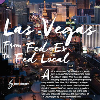 Las Vegas: From Fed Ex to Fed Local